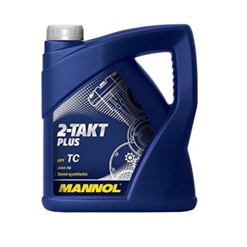 Zweitaktöl SCT-Mannol 2-Takt Plus 4 Liter teilsynthetisch - 1