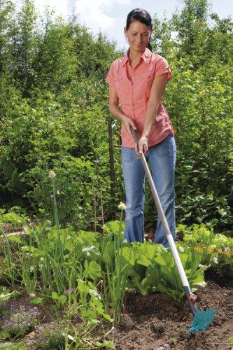 Gardena 3219-20 cs-Gartenhacke, ger. Blatt, 3 Zinken, 9 cm breit - 2