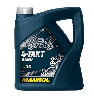 Motorenöl 4-TAKT AGRO ~ 4 Liter ~ SAE 30 ~ API SG ~ JASO MA/MA2 ~ Rasenmäher-Öl - 1
