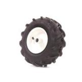 Rechter Reifen inkl. Felge für Ackerfräse FX-AF200